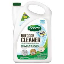 How To Remove Mold From Patio Cushions by Scotts 1 Gal Outdoor Cleaners Concentrate 51070a1 The Home Depot