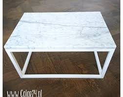 marble wood coffee table marble coffee table etsy