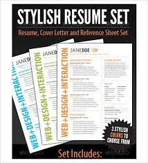 Free Stylish Resume Templates Resume Design Template Psd U2013 11 Free Samples Examples Format