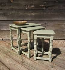 shabby chic nesting tables foter