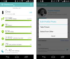 fitbit app android fitbit app update brings new dashboard design android community