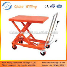 hydraulic massage table used hydraulic table mobile single scissor lift tables to capacity