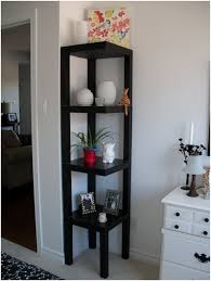 Narrow Corner Bookcase by Small Cabinet Glass Doors Choice Image Glass Door Interior
