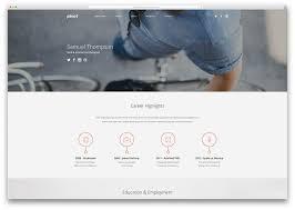 Free Html Resume Templates Html Resume Builder Cv Cover Letter Ukiecard Personal Vcard