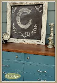 Bedroom Furniture Dresser Paint Makeover Idea For A Blue Dresser Hometalk