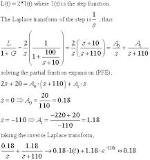 laplace transform table calculator feedback