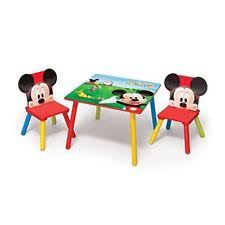 Mickey Mouse Kids Table And Chairs Children U0027s Mickey Mouse Table And Chair Set Ebay