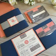 coral wedding invitations navy and coral wedding invitations navy and coral wedding