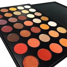 amazon com de u0027lanci 35 color waterproof eyeshadow makeup palette