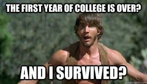 First Day Of College Meme - first year of college is complete my experience tips for incoming