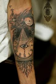 snake forearm tattoos 35 incredible pyramid tattoos