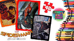 spider man homecoming jigsaw puzzle 48 pieces marvel super hero