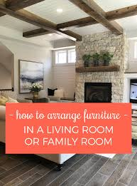 Furniture For A Living Room 9 Tips For Arranging Furniture In A Living Room Or Family Room