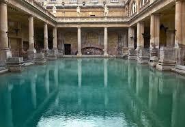 Bathtub Swimming Pool Ancient Roman Baths Thermae Baths Of Caracalla Diocletian
