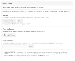 Domain Names Only Title Getting Started With Github Pages Github Guides