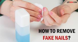 how to take acrylic nails off yourself without acetone nail art