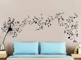 pattern fashion quotes beautiful musical quotes flying pattern wall stickers home