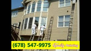 exterior house painting by equality painting painting scraping