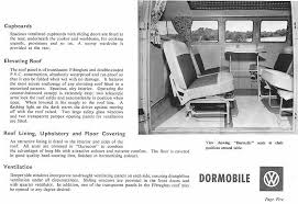 Upholstery Terms Thesamba Com Vw Archives 1961 Dormobile