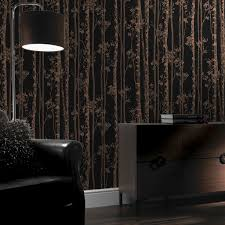 linden black and copper wallpaper graham u0026 brown