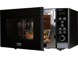 design mikrowelle caso design mikrowelle mcg25 chef black mit grill und heißluft