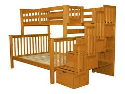 Bunk Beds King Bunk Beds Stairway Honey 739