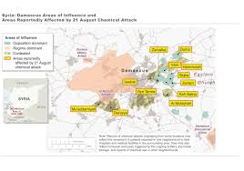 Syria On A Map by Timeline Of Syrian Chemical Weapons Activity 2012 2017 Arms