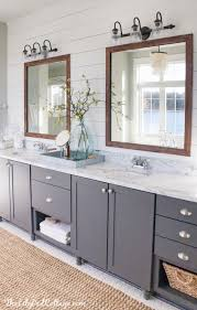 Blue And Black Bathroom Ideas Navy Bathroom Decorating Ideas Double Marble Topped Vanity Blue