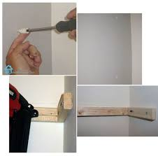 Building Floating Shelves by Building Floating Shelves In A Small Bathroom Hometalk