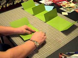 make a photo album cardstock mini album fast to make gift