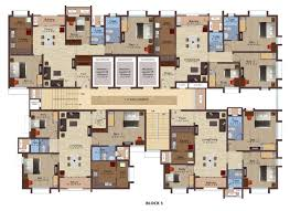 Floor Plan For Residential House Luxury Apartments In Omr Flats In Omr Crest