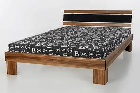 Schlafzimmer Komplett Mit Matratze Und Rost Komplett Bett Noce Nussbaum 120x200cm Inkl Rost Und Matratze