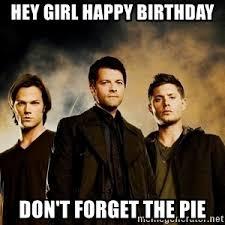 Supernatural Birthday Meme - supernatural boys meme generator