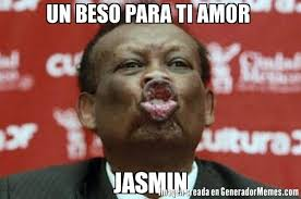 Jasmin Meme - un beso para ti amor jasmin meme de hiojh memes generadormemes