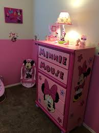 Minnie Mouse Bed Room by Custom Minnie Mouse Dresser Minnie Mouse Nursery Pinterest