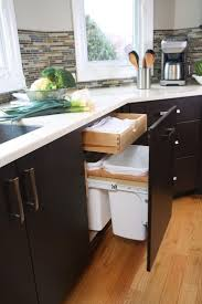 kitchen garbage cabinet kitchen trash cans candiceaccolaspain com