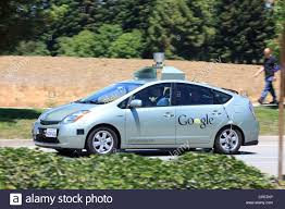 toyota california google self driving car modified toyota prius silicon valley