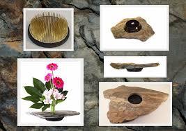 Japanese Flower Arranging Vases Vases U2013 Kenzan Stone Vases Hand Made Perfect For Ikebana U2013 A
