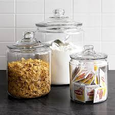 kitchen canisters glass cool kitchen storage ideas home design