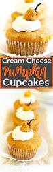 Pumpkin Cupcakes by Cream Cheese Filled Pumpkin Cupcakes