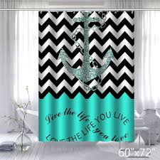 Curtains Chevron Pattern Infinity Live The Life You Love Chevron Pattern With Nautical