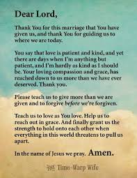 marriage prayers for couples free printable marriage prayer time warp