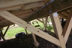 help pressure treated 4x4 deck posts splitting carpentry diy
