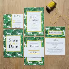 tropical wedding invitations tropical banana leaf wedding invitation invitation design