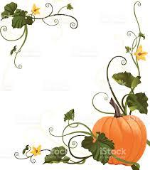 pumpkins border clipart pumpkin vine border stock vector art 95746584 istock