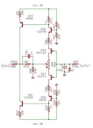 krell kma160 class a mono block amplifier circuit diagram world