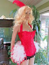 Showgirl Halloween Costume Feather Costumes Ebay