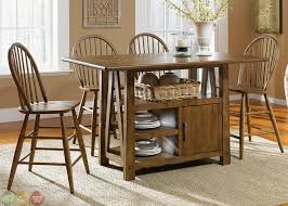 Counter Height Kitchen Island - kitchen island dining table rustic kitchen island lighting dining
