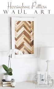 diy herringbone wall using wood shims herringbone pattern