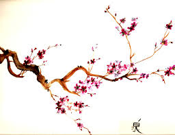 cherry blossom tree painting cherry blossom trees